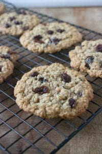 Oatmeal Cookies - Allow to cool